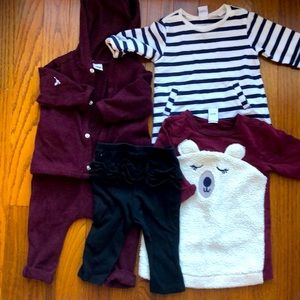 Old Navy 3-6 month girls lot